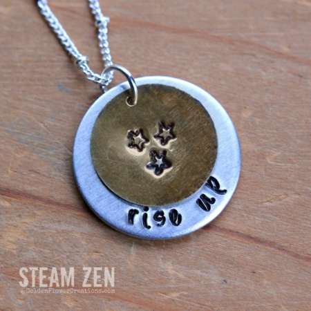 Hamilton Rise Up Necklace