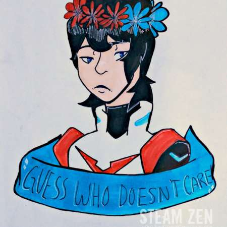 Red Paladin Keith – Voltron – Guess Who Doesn't Care – Fanart