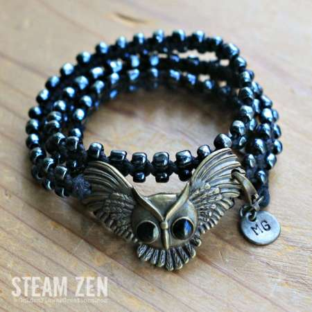 Harry Potter Inspired Owl – Karma Wrap Bracelet